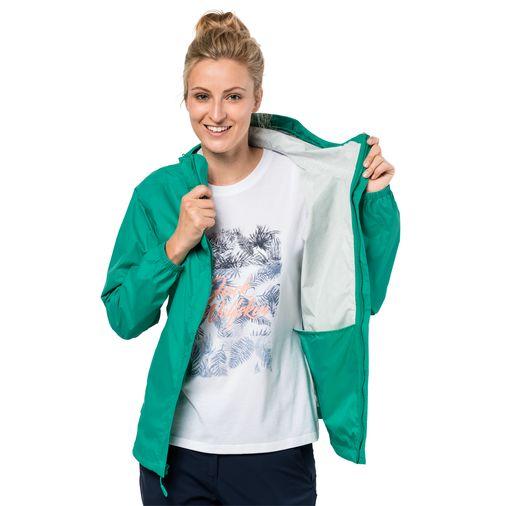 Jack Wolfskin - Женская мембранная куртка Cloudburst Jacket Women