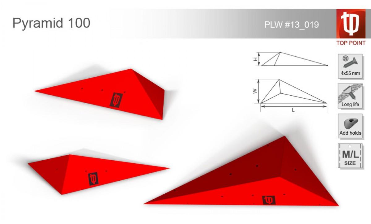 Top Point - Необычный набор для скалолазания Pyramid 100