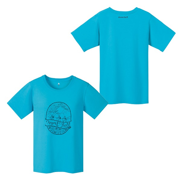 MontBell - Удобная женская футболка Wickron Montagne