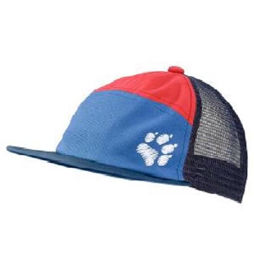 Jack Wolfskin - Детская бейсболка PAW CAP KIDS