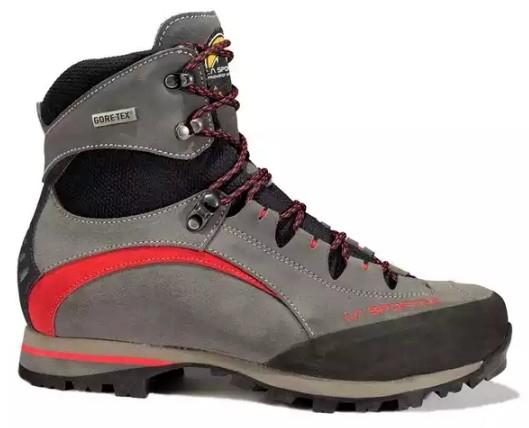 57ecf2d3 La Sportiva — Альпинистские ботинки Trango Trek Micro Evo GTX · Цвет:  Anthracite,Red Цвет: Anthracite,Red