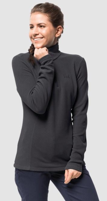 Флисовый джемпер женский